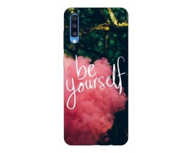 Husa Silicon Soft Upzz Print Samsung A70 Model Be Yourself