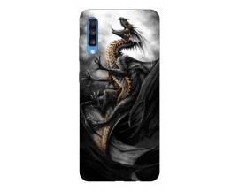 Husa Silicon Soft Upzz Print Samsung A70 Model Dragon 1
