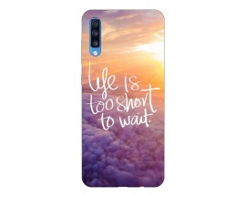 Husa Silicon Soft Upzz Print Samsung A70 Model Life