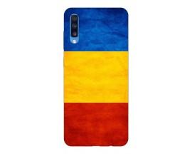 Husa Silicon Soft Upzz Print Samsung A70 Model Tricolor