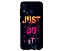 Husa Silicon Soft Upzz Print Samsung Galaxy A20 Model JDI