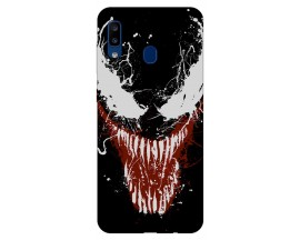 Husa Silicon Soft Upzz Print Samsung Galaxy A20 Model Monster