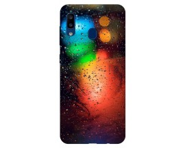 Husa Silicon Soft Upzz Print Samsung Galaxy A20 Model Multicolor