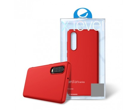 Husa Ultra Slim Pro Guardian X-level Samsung Galaxy A50 ,Silicon ,Red