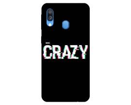 Husa Silicon Soft Upzz Print Samsung Galaxy A40 Model Crazy