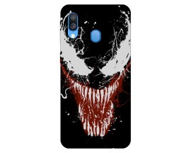 Husa Silicon Soft Upzz Print Samsung Galaxy A40 Model Monster