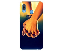 Husa Silicon Soft Upzz Print Samsung Galaxy A40 Model Together