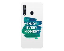 Husa Silicon Soft Upzz Print Samsung Galaxy A60 Model Enjoy