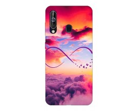 Husa Silicon Soft Upzz Print Samsung Galaxy A60 Model Infinity