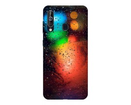 Husa Silicon Soft Upzz Print Samsung Galaxy A60 Model Multicolor