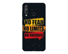Husa Silicon Soft Upzz Print Samsung Galaxy A60 Model No Fear