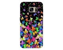 Husa Silicon Soft Upzz Print Samsung S7 Model Colorature