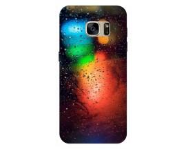 Husa Silicon Soft Upzz Print Samsung S7 Model Multicolor