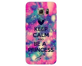Husa Silicon Soft Upzz Print Samsung S6 Model Be Princess