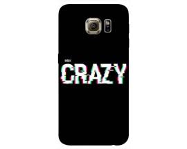 Husa Silicon Soft Upzz Print Samsung S6 Model Crazy