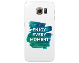 Husa Silicon Soft Upzz Print Samsung S6 Model Enjoy