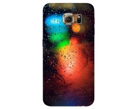 Husa Silicon Soft Upzz Print Samsung S6 Model Multicolor