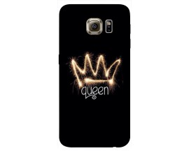 Husa Silicon Soft Upzz Print Samsung S6 Model Queen