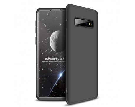 Husa 360 Grade Upzz Protection Samsung Galaxy S10 Plus Negru