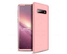 Husa 360 Grade Upzz Protection Samsung Galaxy S10 Plus Roz