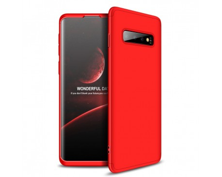 Husa 360 Grade Upzz Protection Samsung Galaxy S10 Plus Red