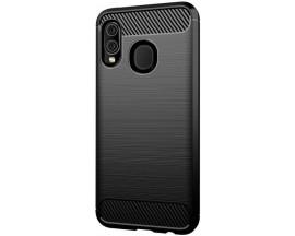 Husa Spate Forcell Carbon Pro Samsung Galaxy A20e Negru Silicon