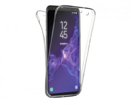 Husa 360 Grade Full Cover Upzz Case Silicon Samsung Galaxy A70 Transparenta