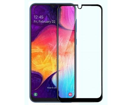 Folie Sticla Full Cover Full Glue Upzz Samsung Galaxy A10 Cu Adeziv Pe Toata Suprafata Foliei Neagra