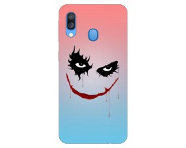 Husa Silicon Soft Upzz Print Huawei Samsung Galaxy A40 Model Joker