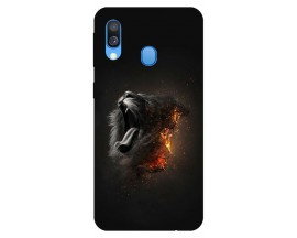 Husa Silicon Soft Upzz Print Huawei Samsung Galaxy A40 Model Limited Edition 1