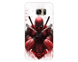 Husa Silicon Soft Upzz Print Samsung S7 Edge Model Antihero