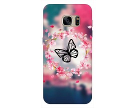 Husa Silicon Soft Upzz Print Samsung S7 Edge Model Be Yourself