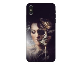 Husa Silicon Soft Upzz Print iPhone Xs Model Carnaval
