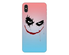 Husa Silicon Soft Upzz Print iPhone Xs Model Joker