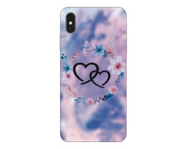 Husa Silicon Soft Upzz Print iPhone Xs Model love