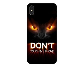 Husa Silicon Soft Upzz Print iPhone Xs Model My Phone 1