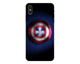 Husa Silicon Soft Upzz Print iPhone Xs Model Shield 1