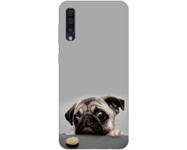 Husa Silicon Soft Upzz Print Samsung Galaxy A50 Model Dog