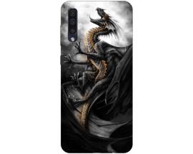Husa Silicon Soft Upzz Print Samsung Galaxy A50 Model Dragon
