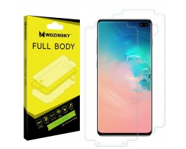Folie Full Body Wozinsky Hydrogel Regenerabila Samsung Galaxy S10 Plus -Functioneaza Amprenta