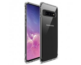 Husa Premium MSVII Anti-shock Tpu Silicon Crystal Clear Samsung Galaxy S10+ Plus Transparenta