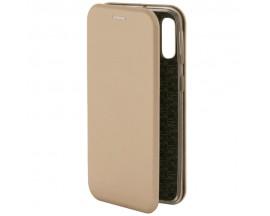 Husa Flip Carte Cu Magnet Lux Upzz Samsung Galaxy A10 Gold