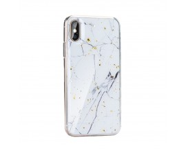 Husa Spate Forcell Marble Silicone Samsung Galaxy A20E Design 1