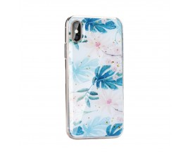 Husa Spate Forcell Marble Silicone Samsung Galaxy A40 Design 2