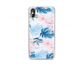 Husa Spate Forcell Marble Silicone Samsung Galaxy A70 Design 2