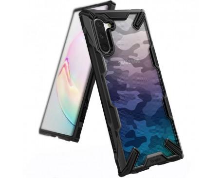 Husa Premium Ringke Fusion Samsung Galaxy Note 10 Camo Black