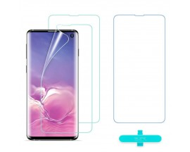 Folie Premium Silicon Liquid Skin Esr Samsung Galaxy S10+ Plus ,Full Cover -2 Bucati In Pachet
