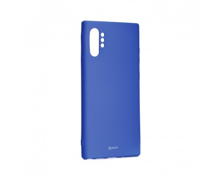 Husa Spate Roar Colorful Jelly Samsung Galaxy Note 10+ Plus Navy