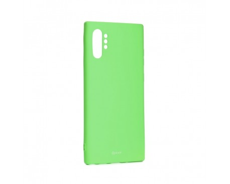 Husa Spate Roar Colorful Jelly Samsung Galaxy Note 10+ Plus Verde Lime