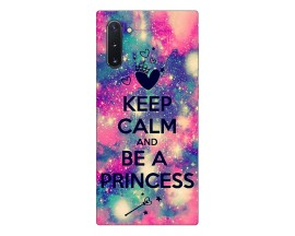 Husa Premium Upzz Print Samsung Galaxy Note 10 Model Be Princess